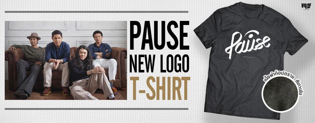 Banner  T-Shirt PAUSE New Logo