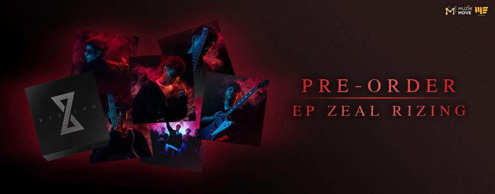 Boxset EP ZEAL Rizing