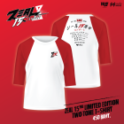 ZEAL 15yrs limited Edition Two Tone  T-Shirt - Red