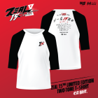 ZEAL 15yrs limited Edition Two Tone  T-Shirt - Black