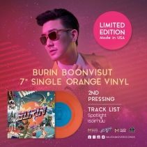 PRE ORDER 2nd PRESSING ORANGE VINYL BURIN BOONVISUT