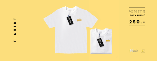 T-Shirt BOXX Collection 2019 - White