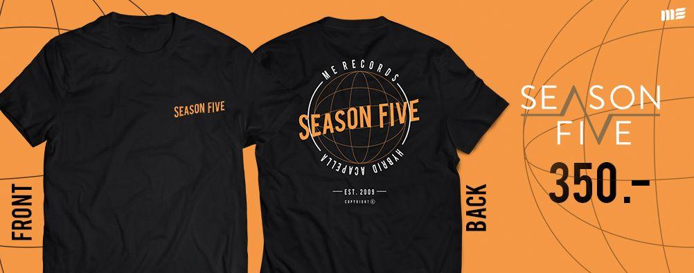 T- Shirt Season Five