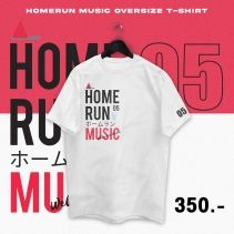 PRE-ORDER HOME RUN MUSIC OVER SIZE T-SHIRT