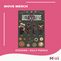 MME Sticker - Silly Fools