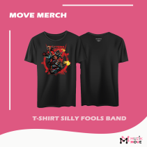 T-Shirt Silly Fools Band -Black